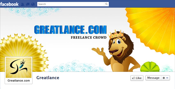 Top 10 Amazing Facebook Timeline Cover Designs for Freelance Graphic Designers
