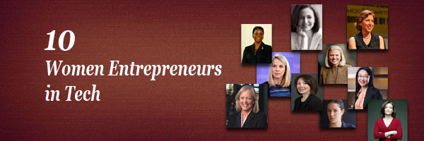10 Women Entrepreneurs in Tech